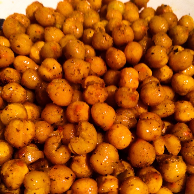 Roasted Curry Chickpeas | Elevated Nutrition